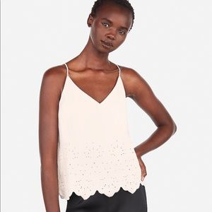 Express Embroidered Eyelet Cami
